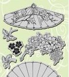 Stampendous – CRS5065 Asian Umbrella