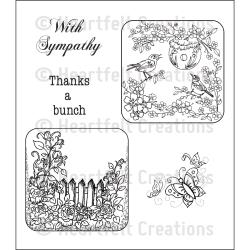 Heartfelt Creations – HCPC3617 Birds & Blooms..
