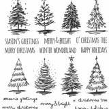 Stampers Anonymous CMS249 Scribbly Christmas..