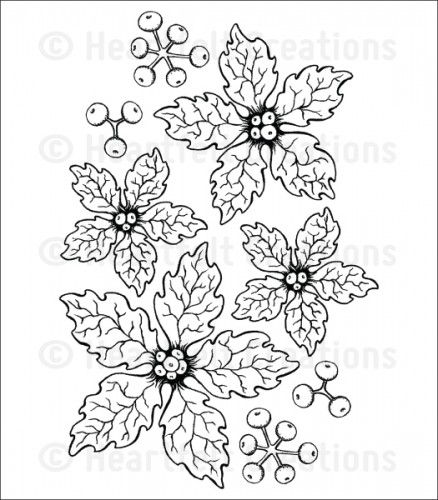 Heartfelt Creations – HCPC3680 Sparkling Poinsettia.. – out of stock