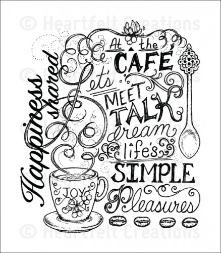 Heartfelt Creations – HCPC3713 Coffee Talk Background..