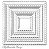 My Favorite Things – MFT-806 Stitched Mini Scallop Square