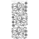 Elizabeth Crafts Sticker 2569 Butterfly Labels 1 (black)