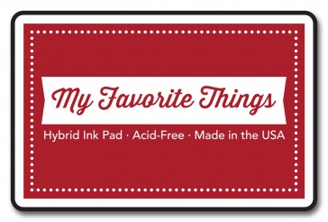My Favorite Things – Hybrid Ink Pad – Electric Red