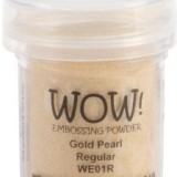 WOW! Embossing Powder 15ml – Gold Pearl