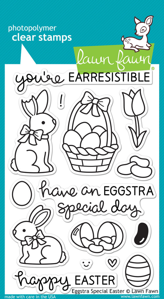 Lawn Fawn LF840 Eggstra Special Easter