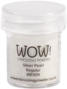 WOW! Embossing Powder 15ml – Silver Pearl