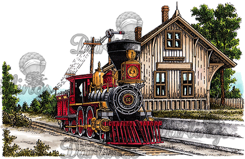 Dove Art Studio – Train Depot – 104 – sold out