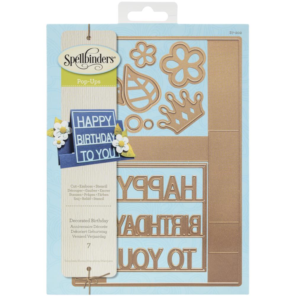 Spellbinders S7202 Decorated Birthday.. – out of stock