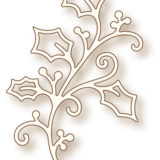 Wild Rose Studio Die – SD023 Holly Flourish