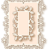 Wild Rose Studio Die – SD026 Snow Frame – out of stock
