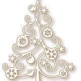 Wild Rose Studio Die – SD036 Christmas Tree