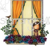 Stamping Bella EB226 Winnie Waits By The Window –