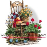 Dove Art Studio – JD1043 Garden Chair..