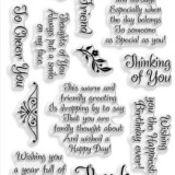 Stampendous SSC1141 Friendly Phrase – out of stock
