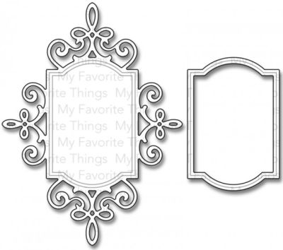 My Favorite Things – Dienamics Sentimental Flourish Frame..
