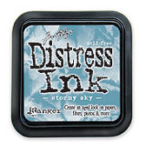 Distress Ink Pad – Stormy Sky