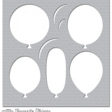 My Favorite Things – ST97 Big Balloons Stencil