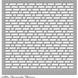 My Favorite Things – ST82 English Brick Wall Stencil