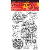 Power Poppy PAPR1501 Simply Camellias