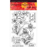 Power Poppy PFEB1502 Orchids Rock