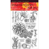 Power Poppy PJUN1403 Sassy Succulents – out of stock