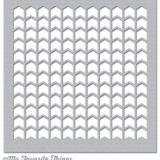 My Favorite Things Stencil – Chevron Grid