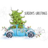 Stamping Bella – EB418 Christmas Bug – out of stock