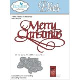 Elizabeth Crafts EC1056 Merry Christmas – out of stock