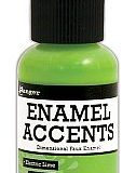 Enamel Accents – Electric Lime