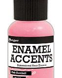 Enamel Accents – Pink Gumball
