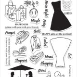 Altenew – Ladies Day Out Stamp Set.. (D)