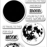 Altenew – To The Moon Stamp Set – out of stock