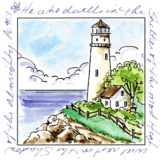 Art Impressions – M3175 Lighthouse Window