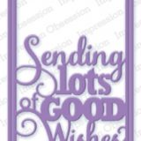 Impression Obsession die – 365W Good Wishes Word Block