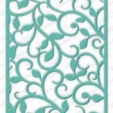Impression Obsession die – 473-YY Large Flourish Background