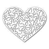 Penny Black die – 51-291 Butterfly Heart Pop-Out- out of stock