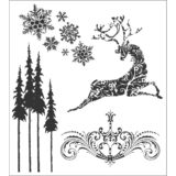 Tim Holtz / Stampers Anonymous CMS052 Reindeer Flight – out of stock