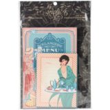 Graphic 45 – Café Parisian Ephemera Cards (G4501442) – sold out