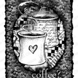 Impression Obsession – L4303 Coffee Collage (cling) – sold out