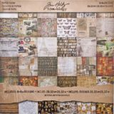 Tim Holtz Idea-ology TH93054 Collage Double-sided Paper Pad 8×8″ 36/pkg- sold out