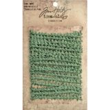 Tim Holtz Idea-ology TH93340 Wired Pine Twine 3yd Natural Green