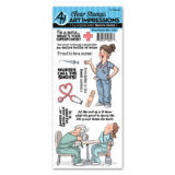 Art Impressions – 4899 Proud Nurse Set…- out of stock