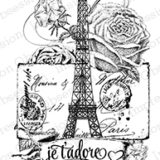 Impression Obsession – F13504 Paris Collage (cling)