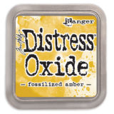 Distress Oxide Ink Pad – Fossilized Amber