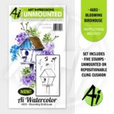 Art Impressions – 4603 Blooming Birdhouse*