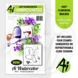 Art Impressions – 4607 Flowering Mailbox – out of stock