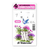 Art Impressions – 4868 Watercolour Flower Set 2