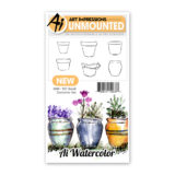 Art Impressions – 4869 Watercolour Small Container Set*
