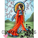 DoveArt Studio – JD1083 Geisha – out of stock
